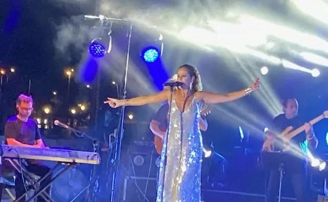 Imagen del concierto de Pastora Soler