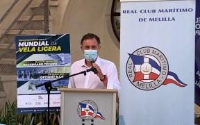 Fernando Celdrán, secretario nacional de la clase Snipe.