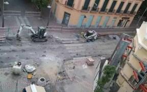 Calle Sidi Abdelkader en obras