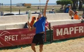 Víctor López, en una competición nacional