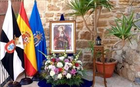 La Casa de Ceuta en Melilla celebra de manera íntima el día de su Patrona, Santa María de África