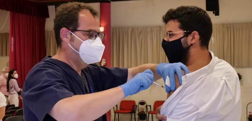 Vacunación en Melilla