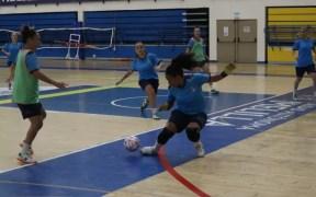 Imagen de la sesión de entrenamiento