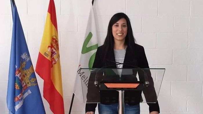 Sendy Nanwani, vicesecretaria de afiliación de VOX Melilla