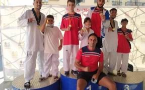 Imagen de los deportistas melillenses