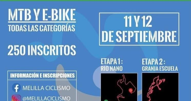 Cartel I Bike Melilla Sport Capital