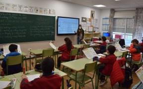 aula durante el coronavirus