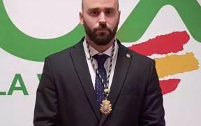El diputado de Vox en la Asamblea de Melilla, Javier da Costa