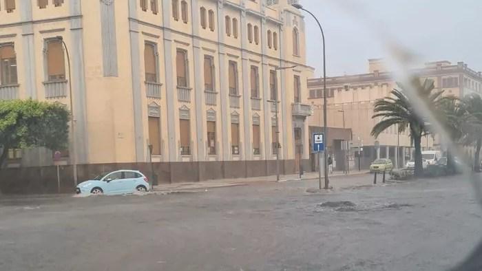 Imagen de la inundación