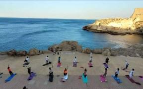 Taller de yoga en Melilla