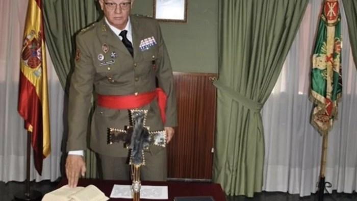 general melillense Miguel Martín Bernardi
