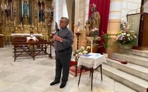 El vicario episcopal de Melilla, Eduardo Resa, en el acto de presentación de las Prioridades Pastorales