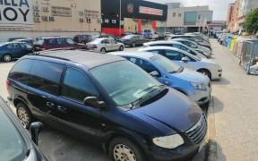 Imagen de los coches aparcados