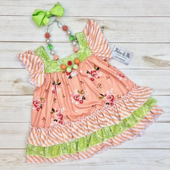 Melina & Me - Sweet Peach Dress