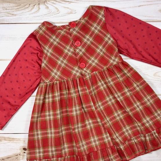 Melina & Me - Country Christmas Dress (Back 2)