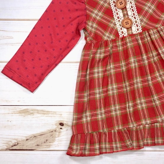 Melina & Me - Country Christmas Dress (Front 3)