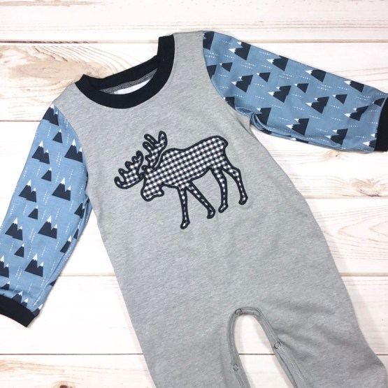 Melina & Me - Moose Tracks Jumper (Front)
