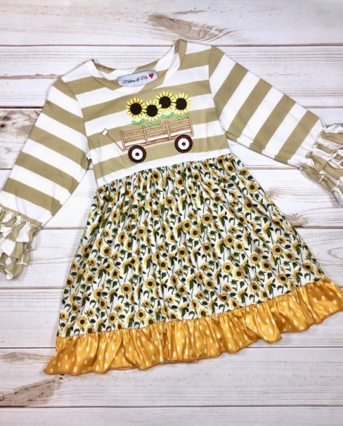 Melina & Me - Sunflower Field Dress