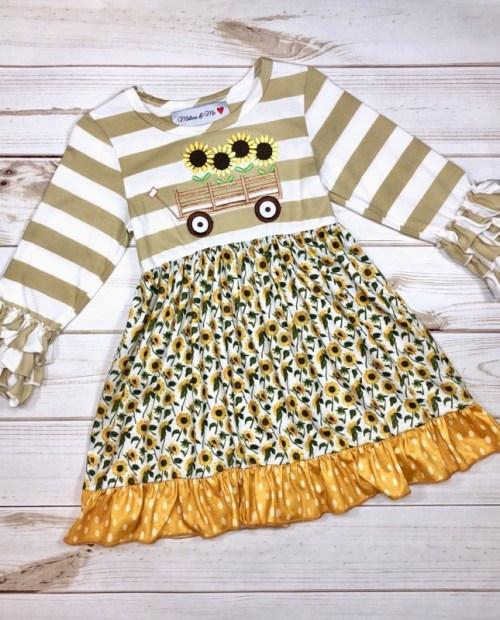 Melina & Me - Sunflower Field Dress