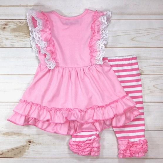 Melina & Me - Bubblegum Outfit (Back)