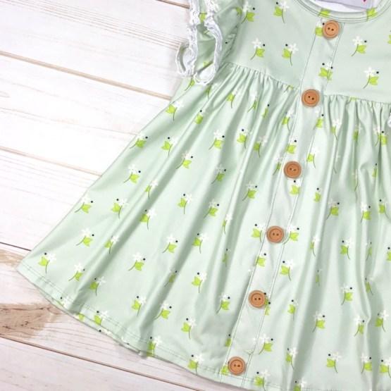 Melina & Me - Spring Garden Dress (Front)