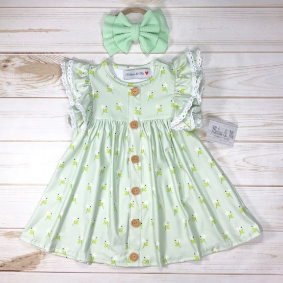 Melina & Me - Spring Garden Dress