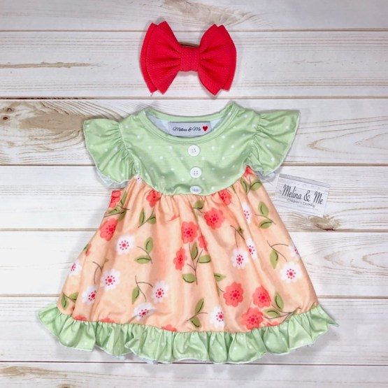 Melina & Me - Sweet Peach Outfit (Top)