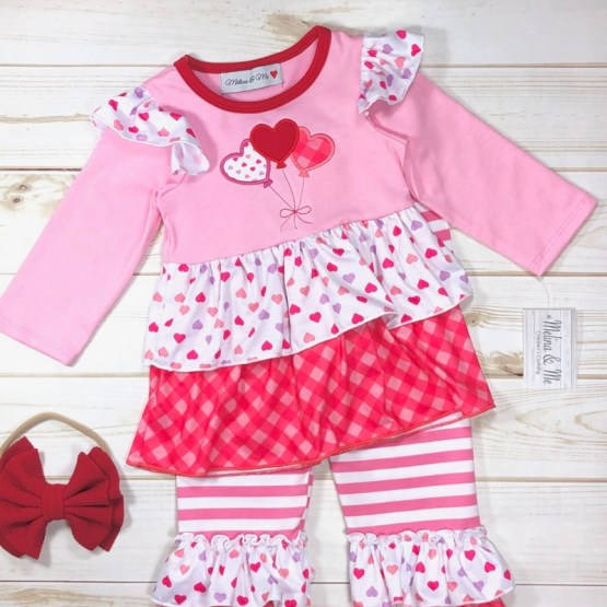 Melina & Me - Sweetheart Outfit (Front)