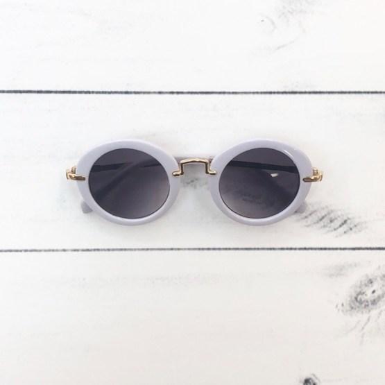 Melina & Me - Sunglasses (White)