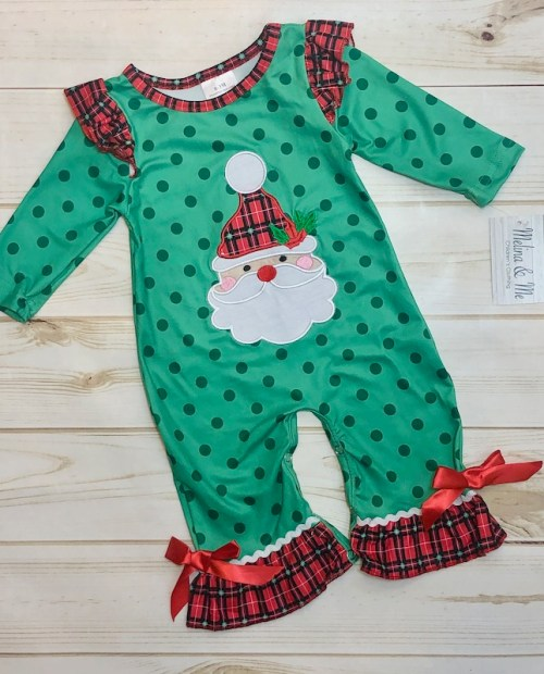 Melina & Me - Holiday Cheer Romper