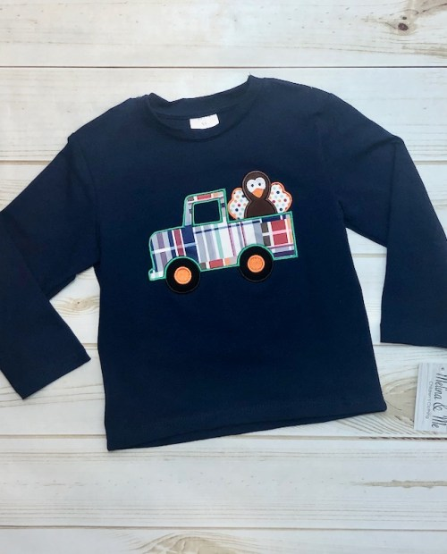 Melina & Me - Turkey Truck Shirt