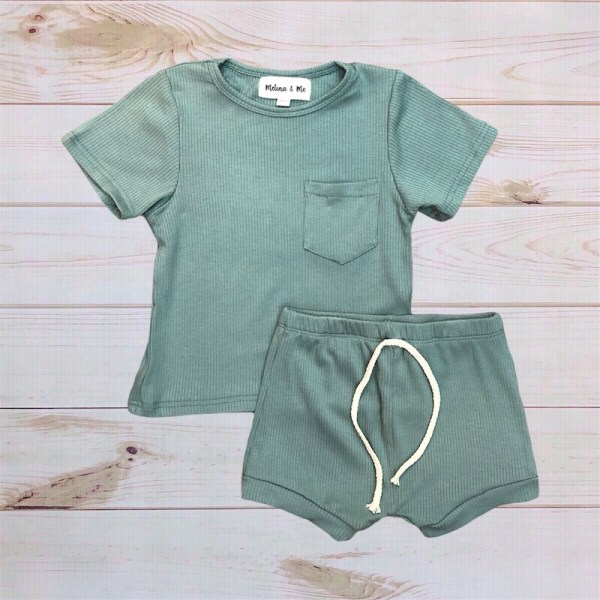 Finn Ribbed Outfit