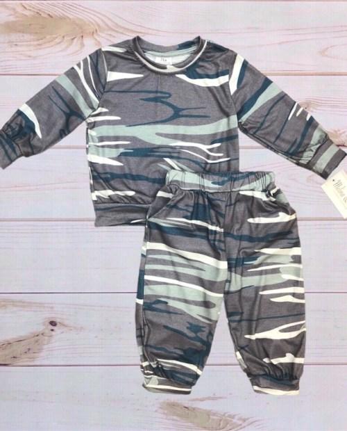 Melina & Me - Camo Outfit (Long-Sleeve)