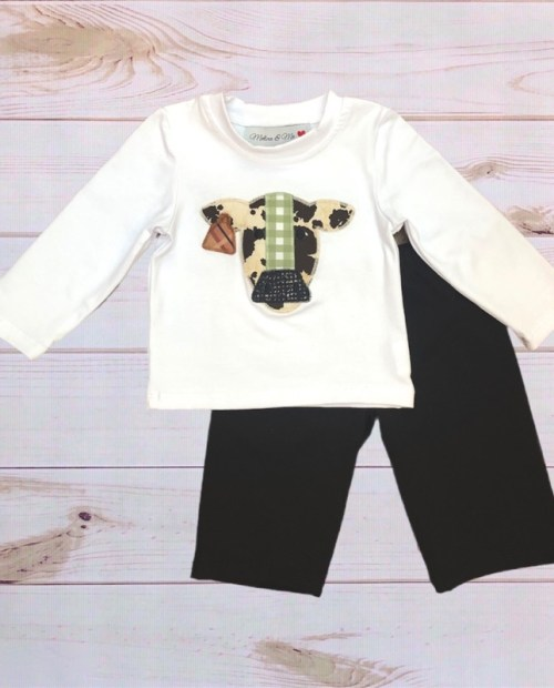 Melina & Me - Cow Outfit