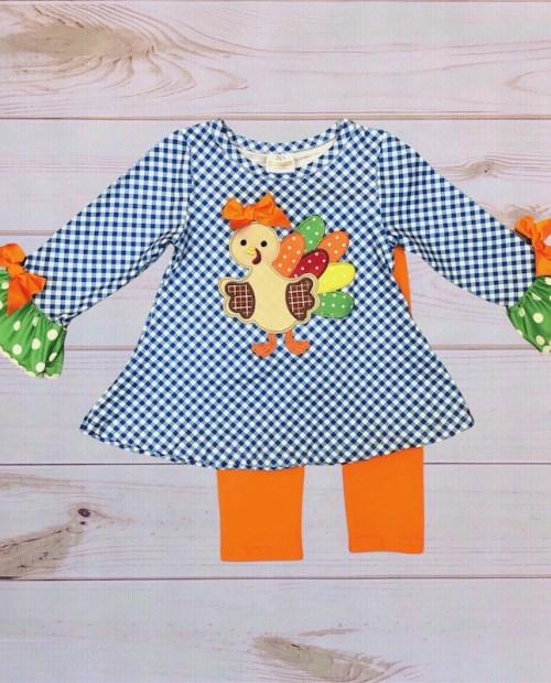 Melina & Me - Fall Turkey Outfit