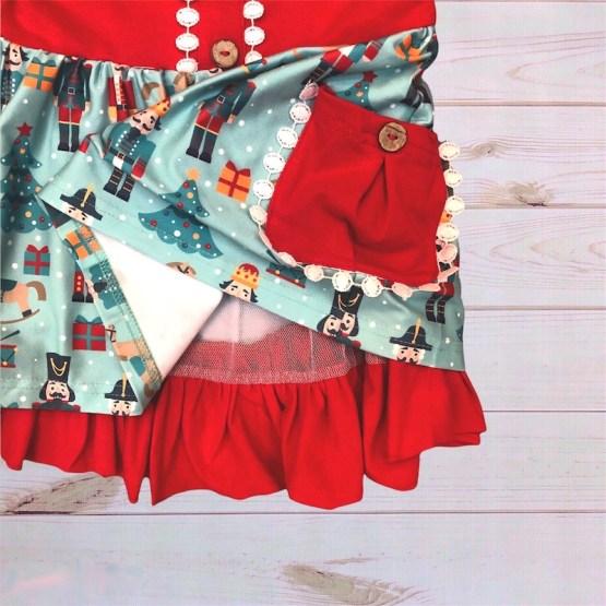 Melina & Me - Nutcracker Dress (Inside)