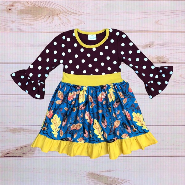 Polkadot Marigold Dress