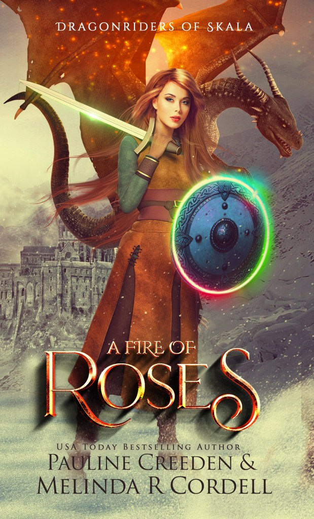 A Fire of roses cover