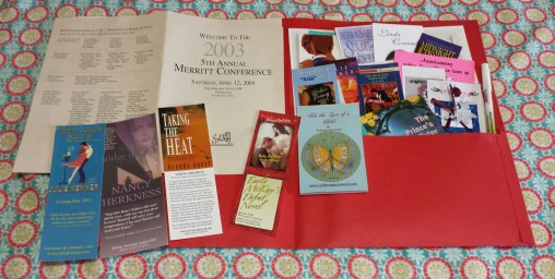 Some of my SWAG I still have from a Merritt Conference.