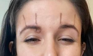 inner brow raiser markings
