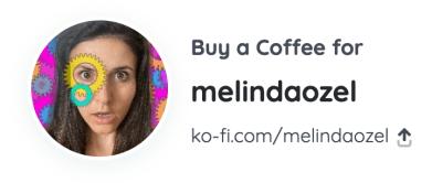 Melinda Ozel - Ko-Fi account