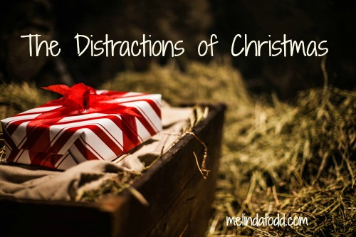 Distractions of Christmas by Melinda Todd