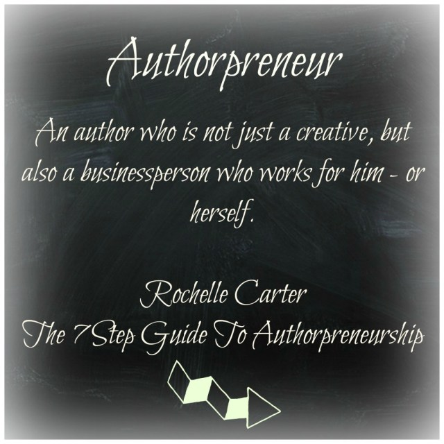 authorpreneur definition melindatodd