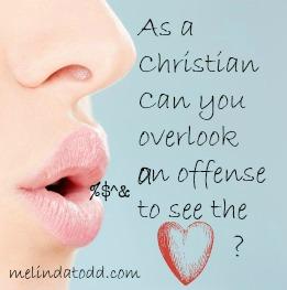 overlook an offense