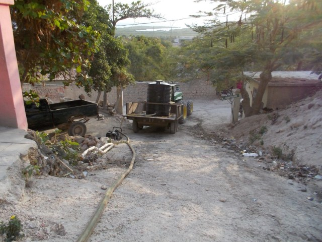water delivery orphanage haiti