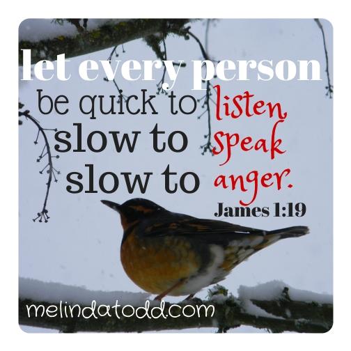 james 1:19 melindatodd