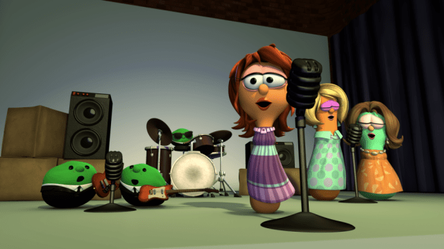 VeggieTales FREE Music download from Beauty and the Beet starring Kellie Pickler