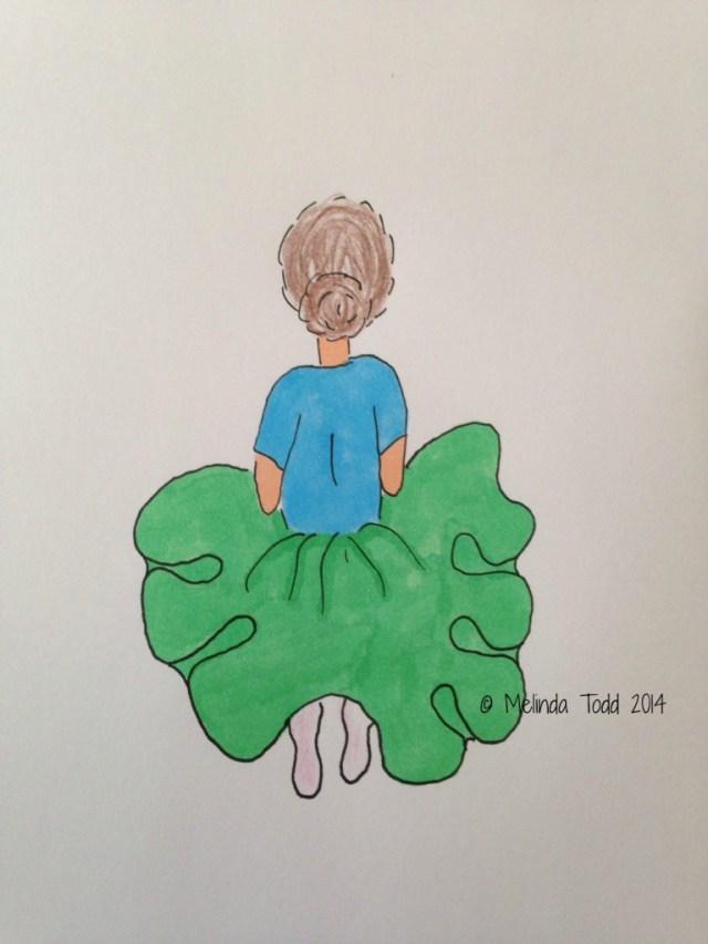My Little Ballerina Illustration by Melinda Todd