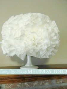 Coffee Filter Blossom - under $2 to make