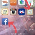 How To Add Your Favorite Website to Your Homescreen
